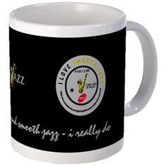 I Love Smooth Jazz Fan Club 3274 Dark Mug 102 Mugs