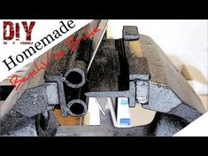only tools were used was an axle grinder and a weldingstation. Made out of old waterpiping and a small leftover ba. Garage Tools, Garage Workshop, Metal Projects, Welding Projects, Welding Jig, Container Pool, Metal Bender, Fabrication Tools, Custom Stationary