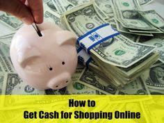 Learn how to get CASH BACK on your online shopping! #cashback #shopping #saving #savingmoney #couponcommunity