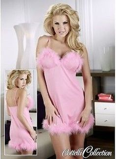 Babydoll Dress With Feathers Fancy