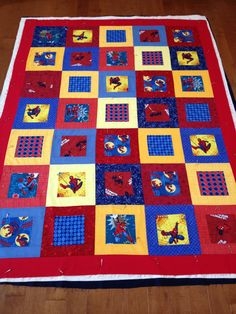 Spider-Man Quilt for Brady | Man quilt, Spider and Sewing projects : spiderman quilt - Adamdwight.com