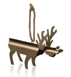 Metal Reindeer Christmas Tree Decoration  £5