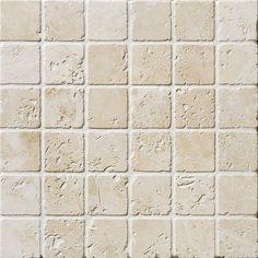 Ivory Tumbled 2x2 Travertine Mosaics 12x12 Travertine Travertine Mosaic Tiles Travertine Floor Tile