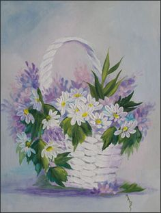 one stroke painting | Crossroads Womens Ministry - One Stroke Painting