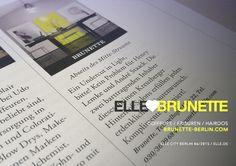 BRUNETTE ♥ ELLE / wir freuen uns über die aufnahme in den neuen guide ELLE CITY BERLIN / zusammen mit unseren lieblingsdüften von FRAU TONIS PARFUM / MERCI MESDAMES / #ellelala #brunetteenvogue #ellecity / ✃ ✁ ✃ ✁ ✃