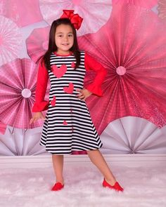 622a4cc333e7 Black Stripes and Red Hearts A-Line Dress only  13.99 www.gabskia.com