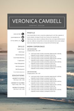 best cv template word - great resume templates - work cv template - simple cv layout Simple Cv Format, Cv Format In Word, Modern Resume Format, Modern Resume Template, Creative Resume Templates, Best Cv Template, Cover Letter Template, Professional Resume, Layout