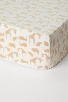 Formsydd laken - Lys beige/Dyr - Home All | H&M NO 1