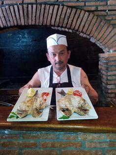 Taverne de poisson manos à symi Grèce le meilleur grillman de l'île