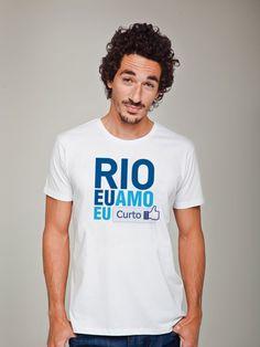 Camiseta Masculina Huck Curto Rio - Masculino