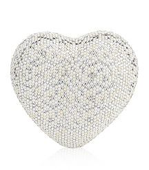 Judith Leiber:  View the Heart 'n' Soul Crystal-Embellished Clutch