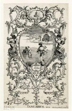 §§§ : Ianuarius : after Georg Sigismund Rösch : 1700