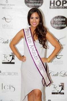 Adrian Michelle - Miss Los Angeles Latina 2013 Charity Event