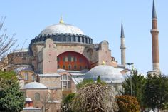 The Hagia Sophia.  Istanbul was made for walking.