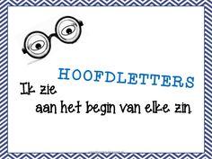 Poster: start elke zin met een hoofdletter