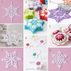 December is here and new season is coming soon! How's your Christmas spirit doing? I've gathered all my crochet stars, snowflakes and garland motifs patterns here so you can easily find them, ...