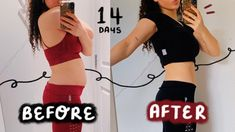ABS IN 2 WEEKS?! i tried chloe ting's 2 week shred ...