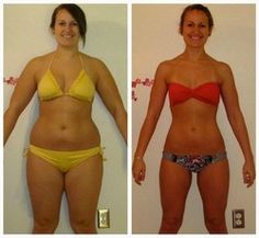 body transformation {before and after} - lost 55 pounds {love the after pic}