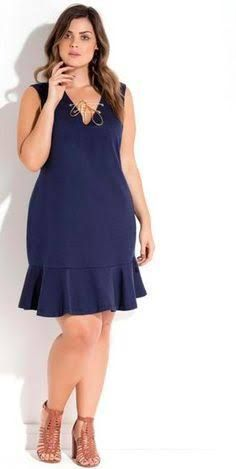 Plus Size Womens Clothing Cheap Uk Info: 4921986999 Frock Fashion, Curvy Fashion, Plus Size Fashion, Fashion Dresses, Womens Fashion, Vestidos Plus Size, Plus Size Dresses, Simple Dresses, Summer Dresses