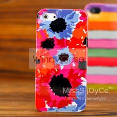 Kate Spade iPhone 5 case - red flower