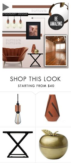 """""""Untitled #1010"""" by polly301 ❤ liked on Polyvore featuring interior, interiors, interior design, home, home decor, interior decorating, Buster + Punch, Mercedes-Benz, Alexandra Von Furstenberg and Kate Spade"""