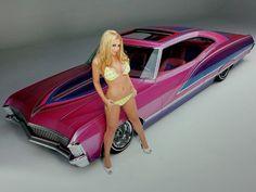 Pink #Chevy #Impala