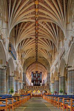 Exeter Cathedral, Devon