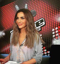 Despina Vandi wearing DESPINA VANDI for CHIP & CHIP kaftan!! www.chipandchip.gr