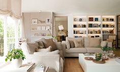 Tanto si buscamos decorar nuestra casa en un estilo clásico, nórdico o simplemente no nos gusta mezclar colores o el look total white, la combinación blanco y arena es la mejor opciónpara un ambie…