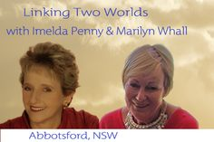 Looking forward to spending time with you here at this event www.marilynwhall.com.au for details.