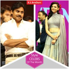 "Hey Folks, this week Tollywood celebritie's ‪#‎PawanKalyan‬ and  ‪#‎Kajal‬ Agarwal are dazzled in Trendy Fashions Look for ""Sardaar Gabbar Singh"" Movie Audio Launch."