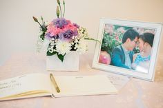 Today we're featuring a warm, sunny Australian wedding. This beautiful couple had both a traditional Buddhist Guestbook Ideas, Beautiful Couple, Victorian, Culture, Wedding, Valentines Day Weddings, Weddings, Marriage, Mariage