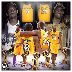 WEBSTA @princessphylicia My GOAT! Two jerseys. One LEGEND. Congratulations Kobe! @kobebryant Thank You for letting me witness GREATNESS! You deserve everything and more for what you gave to basketball and fans watching you play. Up next 2 statues!!!?🙌🏼👆🏼👏🏼👑🏆🐍💜💛🏀