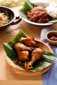 Ayam Goreng Santan: Indonesian fried chicken