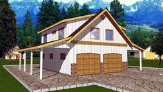 Our 4 Car Garage Plans Collection Consists Of About 50 Four Designs With Many Diffe Configurations And Styles Available
