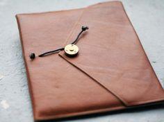 P.A.P. iPad Cover Leather Tan | Miscellaneous