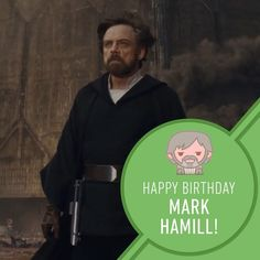 : SHOUT OUT to notorious joker for no particular reason other than inspiring generations of filmgoers and being a beacon of light side energy. Obi Wan, Jar Jar Binks, Dark Maul, 25 September, Star Wars, The Phantom Menace, Light Side, Mark Hamill, The Empire Strikes Back