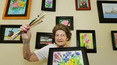 Art therapy for nursing home residents has a wealth of health benefits, but the most obvious benefit is that it can brighten your day.