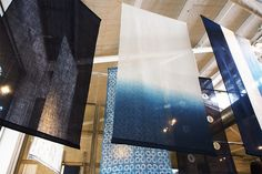 Organic indigo dyed textiles by Aboubakar Fofana - From The Jealous Pencil: Feeling Blue Indigo Dye, Shibori, Jealous, Pencil, Textiles, Organic, Feelings, Blue, Indigo