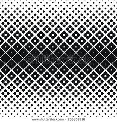 Vector Illustration of Scattered Leaf Seamless Pattern for Design, Website, Background, Banner. Floral and Geometric Ornament Texture Template for Wallpaper or Textile. Black and White Color