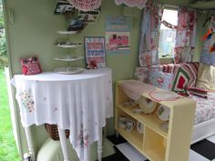 Cath Kidston Vintage Caravan/Garden Room/Lady Shed/Playroom/Sewing Room | eBay
