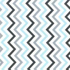 Tissu à chevrons Michael Miller. Tissu pour patchwork, accesoires, la déco, etc