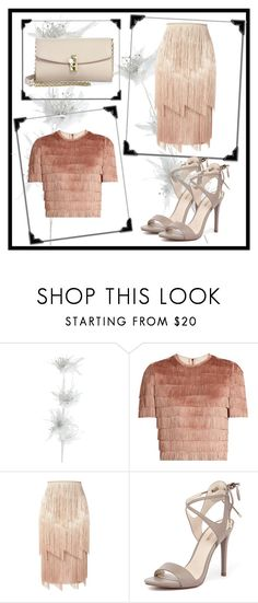 """Dance in fringe"" by behijadedic ❤ liked on Polyvore featuring Pier 1 Imports, Raey, Tom Ford, GUESS and Dolce&Gabbana"