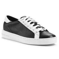 MICHAEL Michael Kors - Keaton Sneakers - Black/White - $100.63 (30% off)