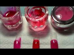 Como Limpio Mis Brochas para Uñas de Acrilico - YouTube