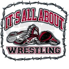 Wrestling Quotes and Sayings | all_about_wrestling_infant_bodysuit.jpg?color=CloudWhite&height=460 ...