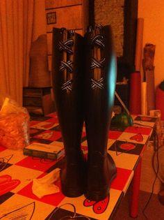 Anadas de la vida - Ana Mifei: Personalizando botas de agua