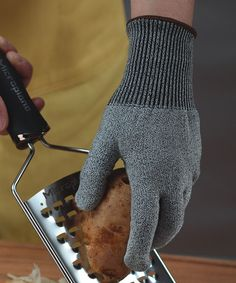 Cut-Resistant Knit Glove