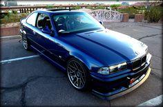 ACS Avus blue E36 M3 with Arc 8 wheels