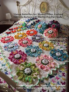 Ravelry: Vintage Butterflies Set pattern by Barbara Carlettini